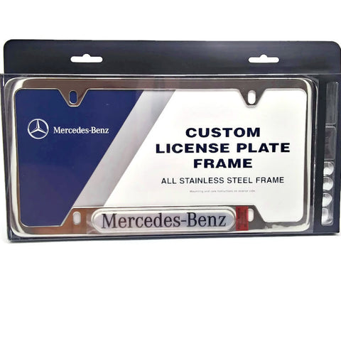 Mercedes-Benz - Custom License Plate Frame - NEW !