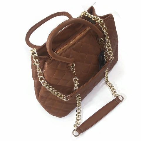 Women's Fashion Tote Shoulder Bag Purse Wallet HandBag Brown