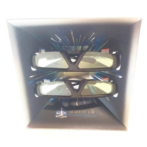 3D Starter Kit , Samsung SSG-P3100M Megamind - 2 pair of glasses ONLY- NEW !!!