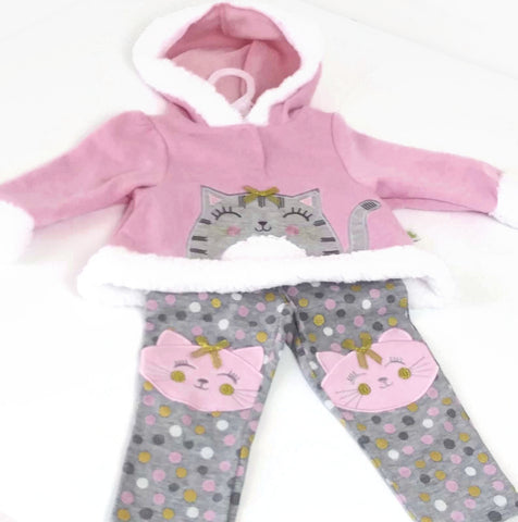Baby Girl Outfit, 18 Months, Duck.Duck Goose  -  NEW