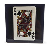 Drink Coaster, Playing cards, Ace, King, Queen and Jack spades