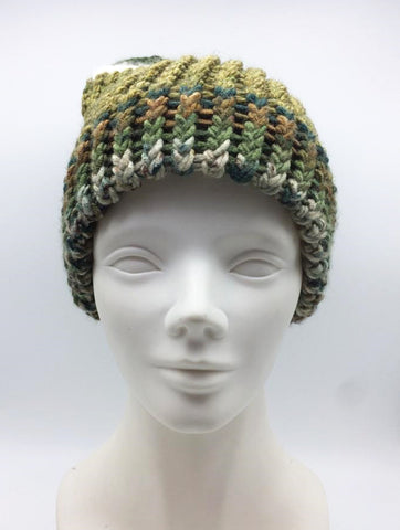 Autumn and Winter Unisex Handmade Knitting Hat Wool