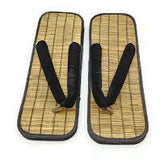 Straw Zori Sandals, Straw Slipper, Size 44EU, 10.5-11US