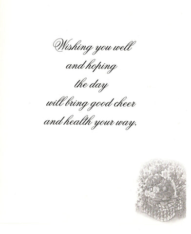 Well Wishes Greeting Card