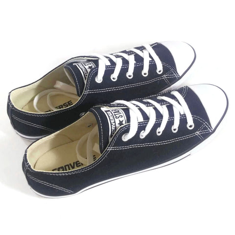 Converse Women's  Canvas Low Top Sneaker Black Size 9