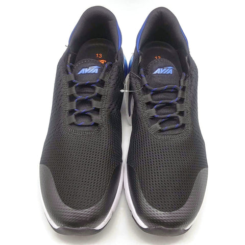 Avia Men's O2Air BX1 Athletic Sneaker Black Size13 US New