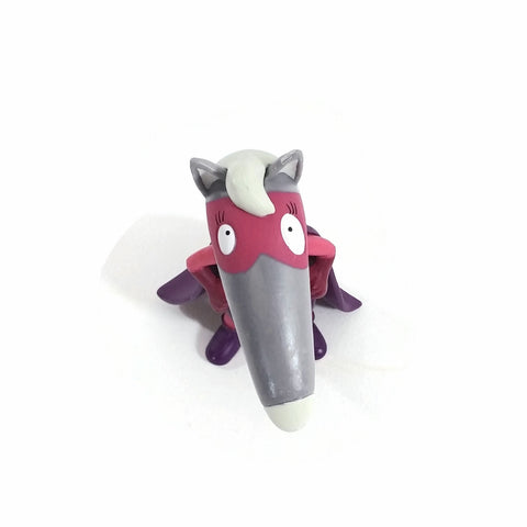 "3.25"" Purple Super-Hero Wolf Figurine"