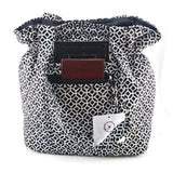 Fabric CrossBody Tote Bag, Purse Handbag, Cul-De-Sac -NEW