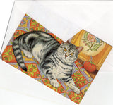 Beautiful Cat Cat Collection Blank Art Greeting Cards for Any Occasion Cat Lover