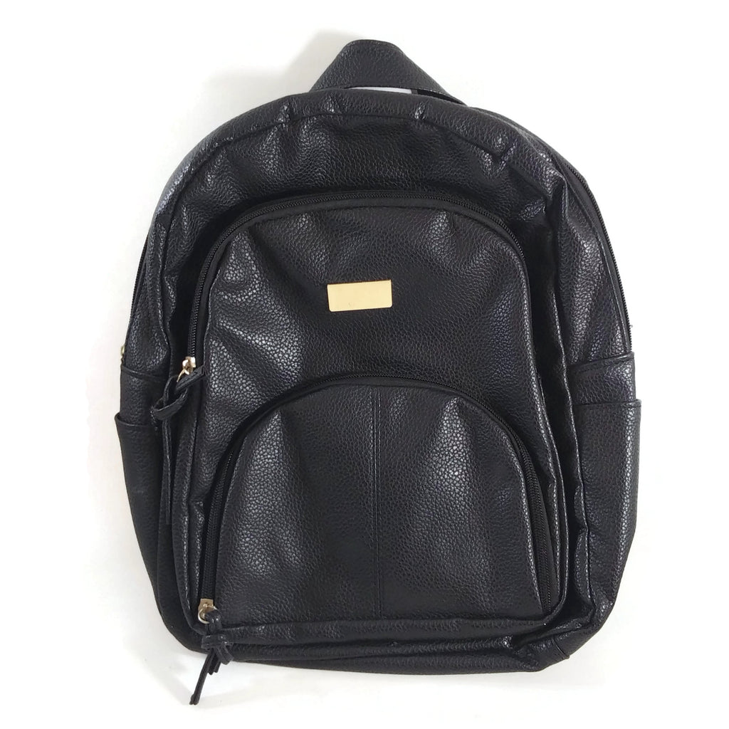 Fashion Backpack Travel Bag Purse Handbag Black Unisex Vintage