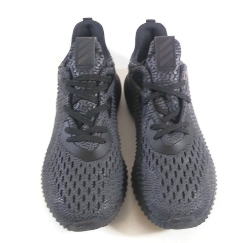 Adidas Alphabounce AMS Kids Youth Comfort Walking Shoes Sneakers Black US 4 Teen