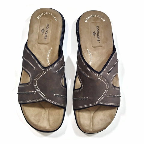 Dockers Men's Fashion Sunland Casual Comfort Outdoor Slip-on Slide Sandal Shoe