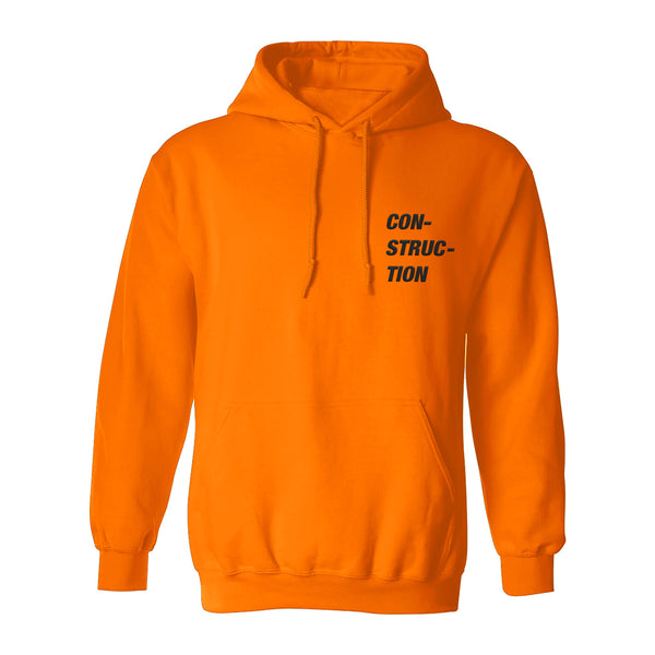 CON-STRUC-TION Safety Hoodie