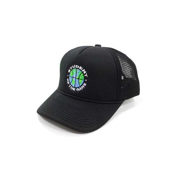 Globall Trucker Hat (Black)