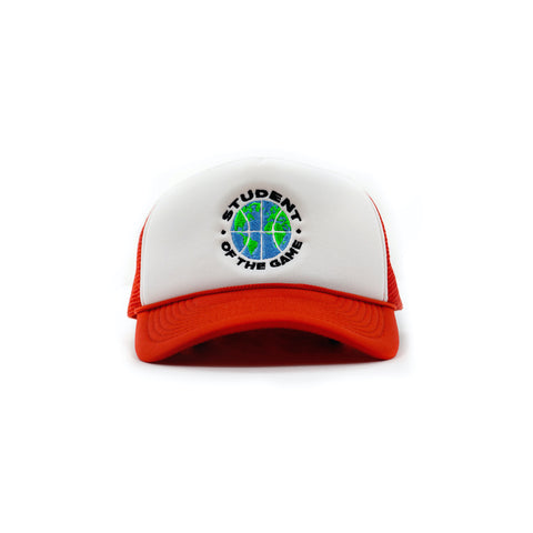Globall Trucker Hat (Red)