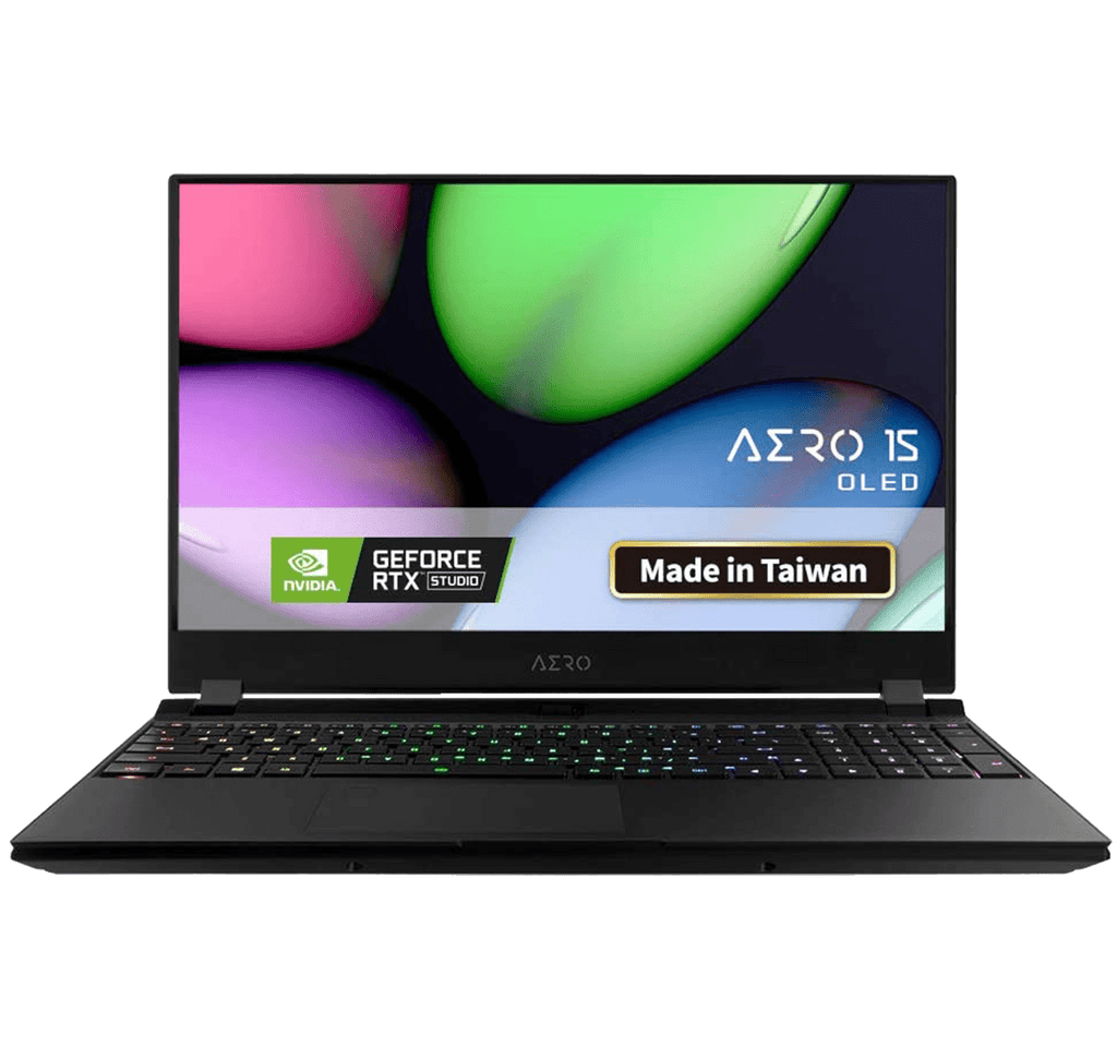 Laptop Gaming Gigabyte AERO 15 UHD AMOLED i7-10875H 8-Core 16GB 512GB SSD GTX 1660Ti 6GB Win10