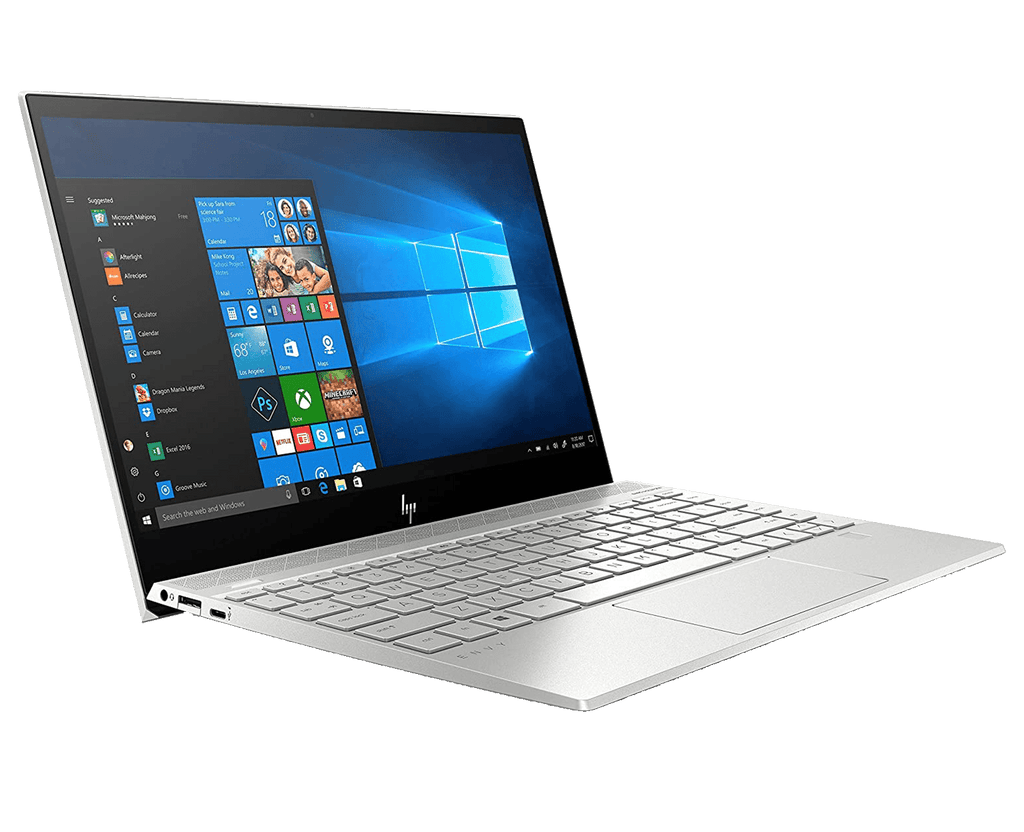 Ultrabook HP ENVY 13 UHD 4K IPS Touch i7-1065G7 8GB 512GB SSD Iris Plus Wi-Fi 6 Windows 10 1.1Kg
