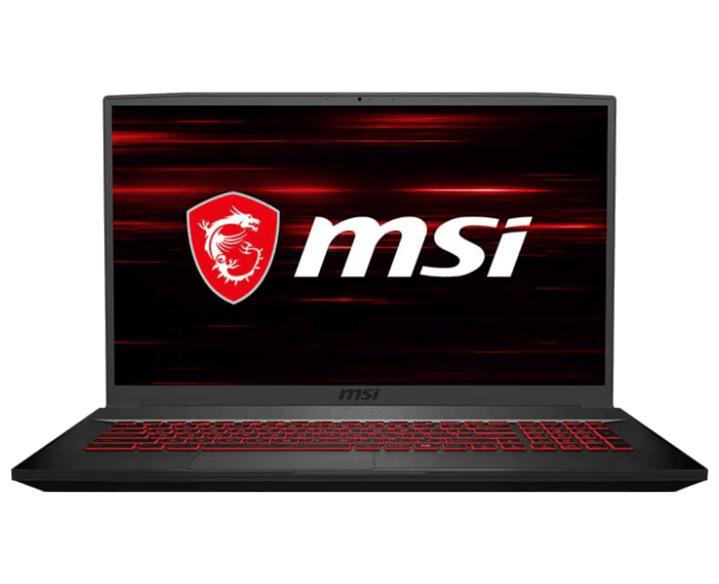 "Laptop Gaming MSI GF75 Thin 17.3"" FHD 120Hz i5-10300H 8GB Nvidia GTX 1650 512GB SSD Windows 10"