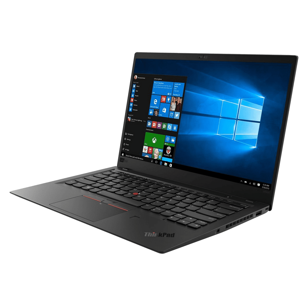 "Laptop Lenovo ThinkPad X1 Carbon 7th Gen 14"" UHD HDR i7-10510U 16GB 1TB SSD Win10 Pro"