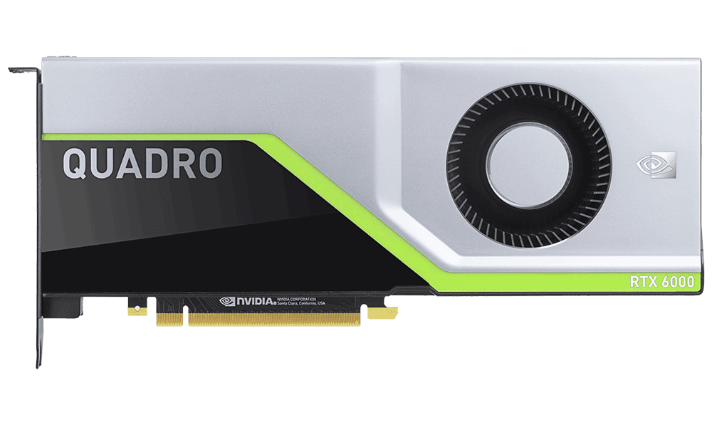 Placa video NVIDIA Quadro RTX 6000 24GB GDDR6 Turing Real Ray Tracing PNY
