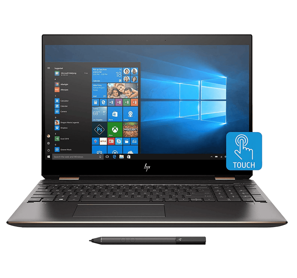 "HP Spectre (2019) X360 2-in-1 13.3"" UHD 4K Touch i7-8565U up to 4.8Ghz 16GB RAM 512 GB BLUE Stylus"
