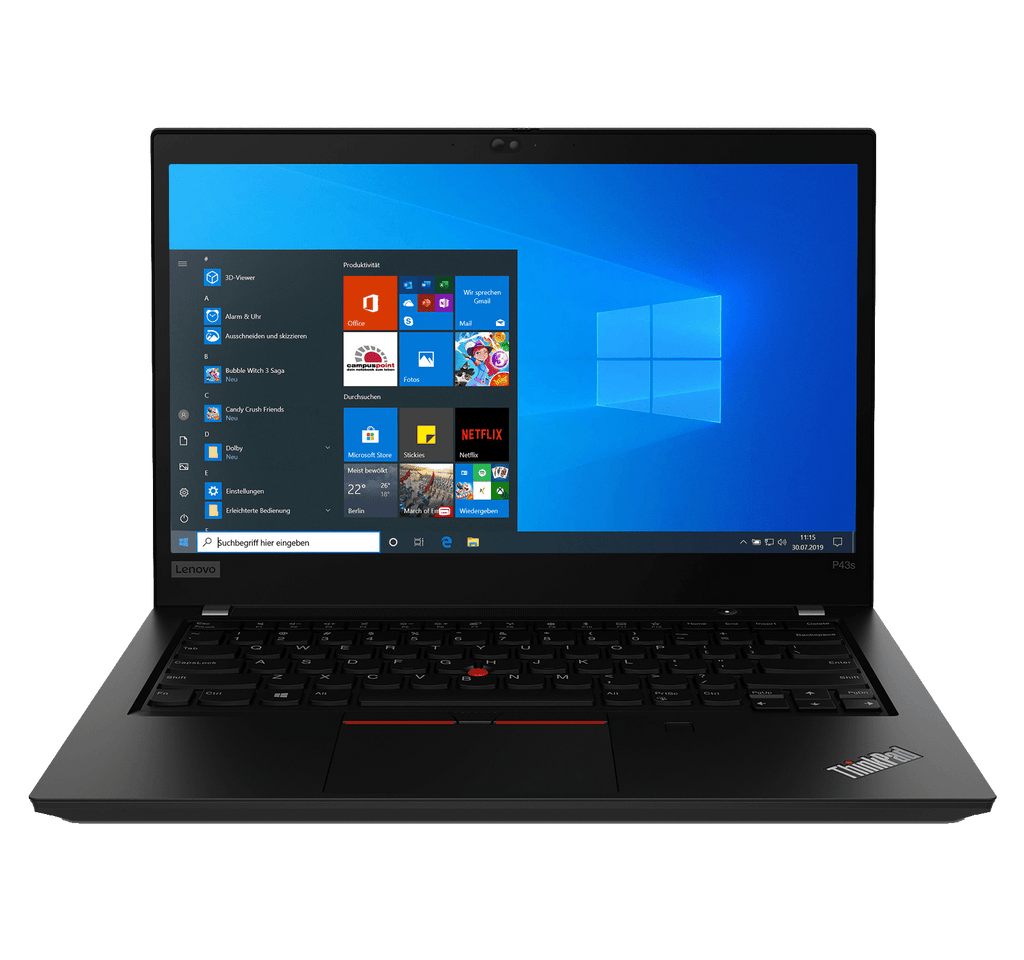 "Lenovo ThinkPad P14s Mobile WorkStation 14"" UHD HDR i7-10610U 32GB Quadro P520 1TB SSD Windows 10"