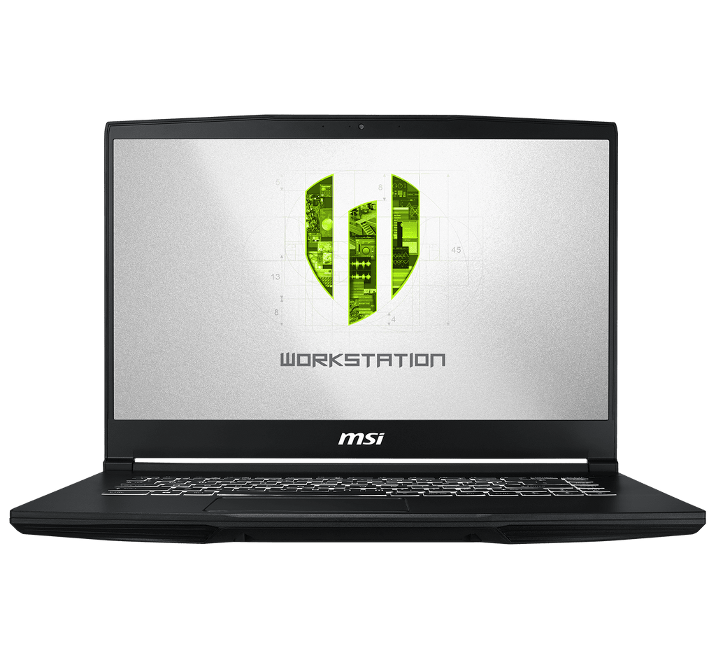 "MSI WP65 Workstation 15.6"" FHD i7-9750H 16GB Ram 256GB SSD + 1TB Nvidia Quadro P620 4GB Windows 10"