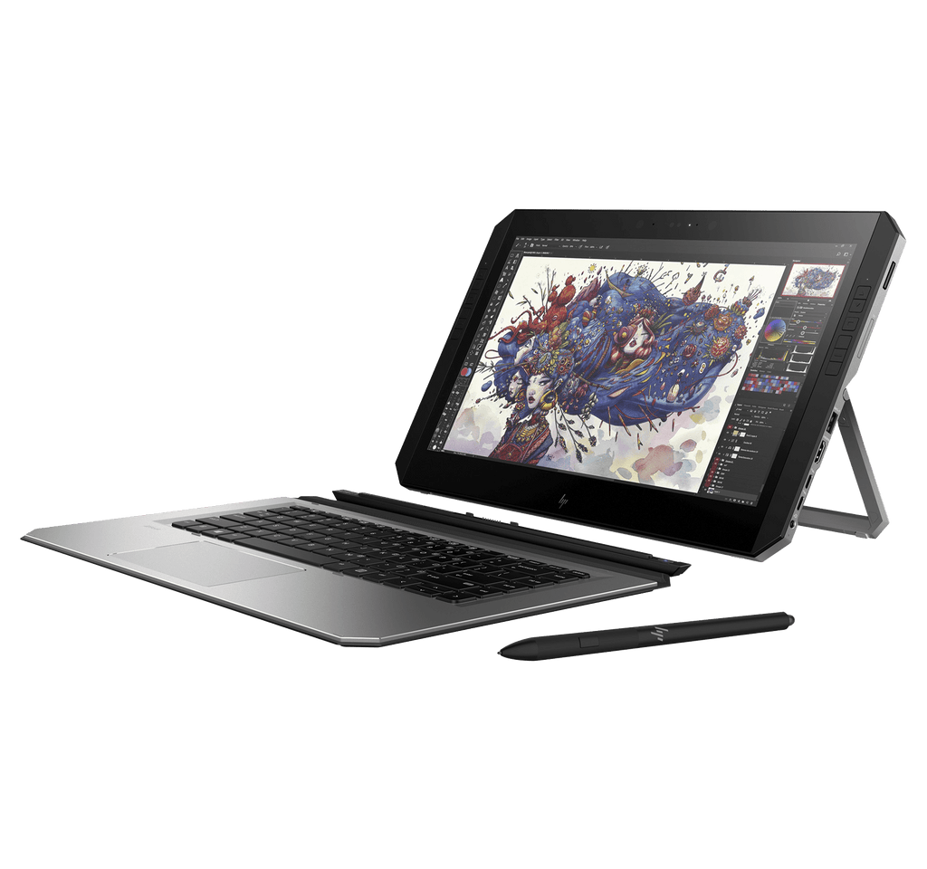 "HP ZBook x2 G4 Workstation / Tableta 2-in-1 14"" UHD i7-8550U 16GB Nvidia Quadro M620 256GB SSD"