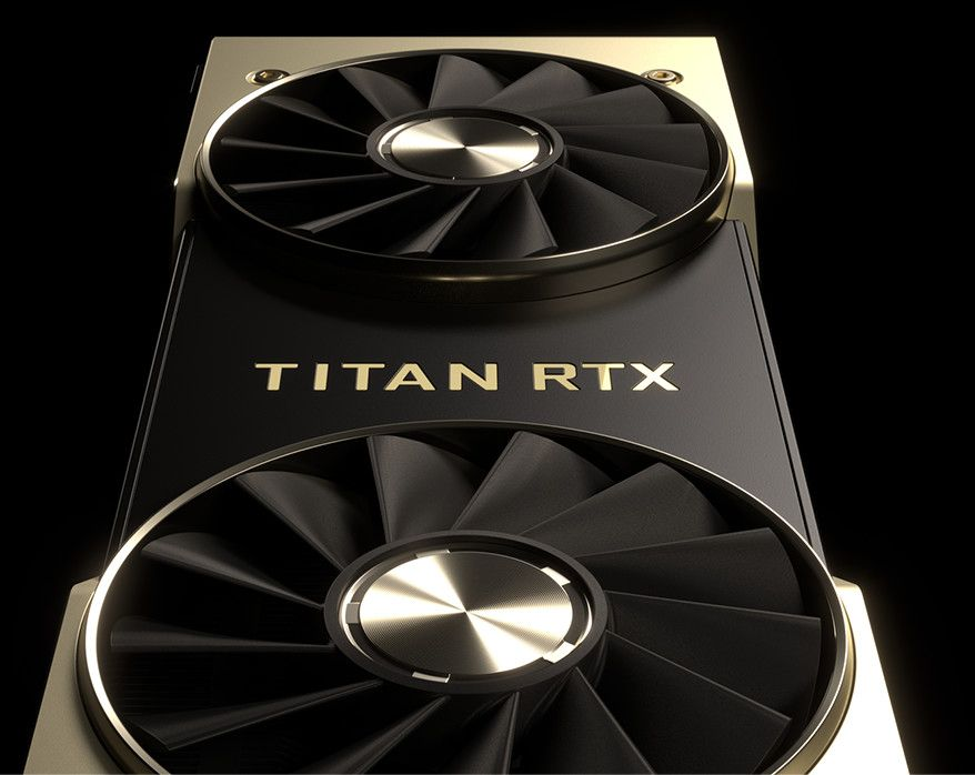 Placa video de Gaming Profesionala NVIDIA TITAN RTX 24GB Ray Tracing Turing