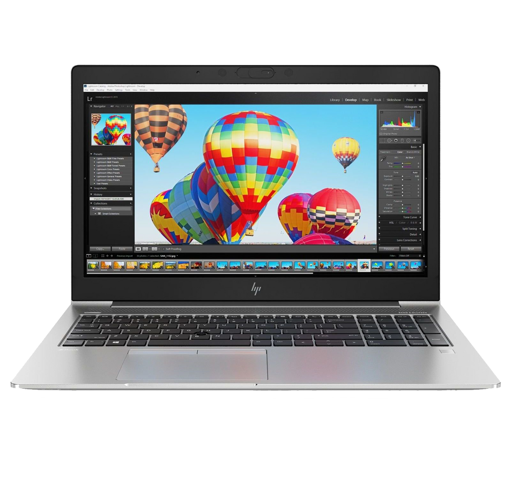 "HP ZBook 15u G5 15.6"" Full HD Core i5-8350U 8GB Ram 256GB SSD Radeon WX 3100 Windows 10 Pro 3 Ani"
