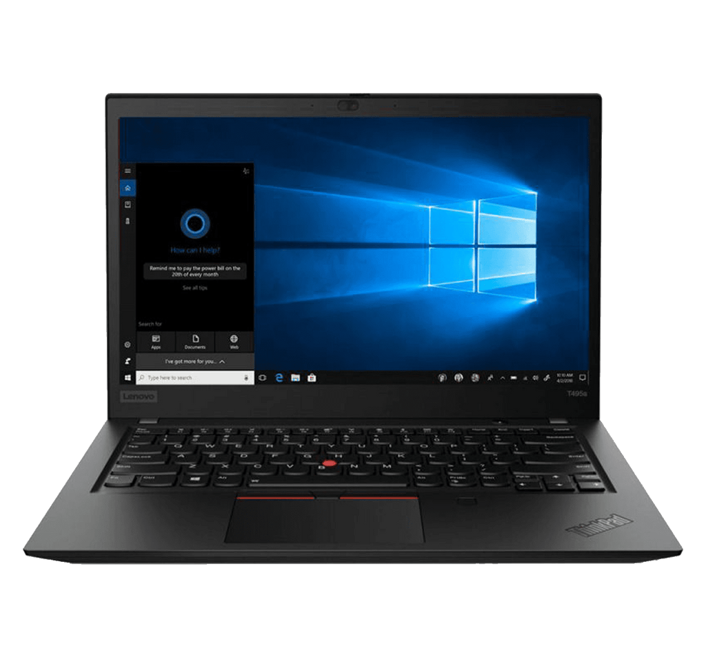 "Laptop Lenovo ThinkPad T495s 14"" FHD Touch AMD Ryzen 7 PRO 3700U 16GB 512GB SSD Windows 10"