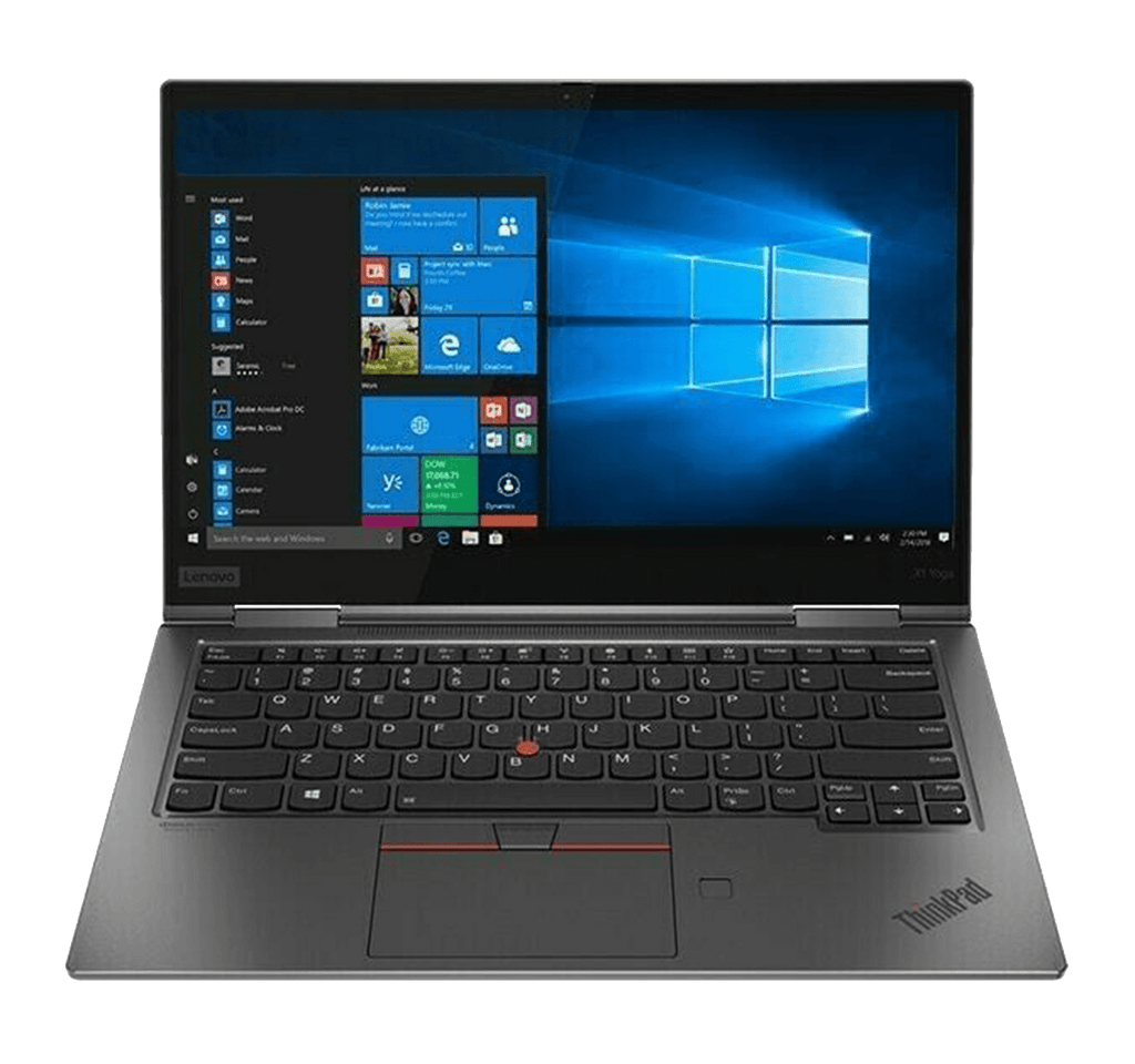 "Ultrabook 2 in 1 Lenovo ThinkPad X1 Yoga 4th Gen 14"" FHD Touch i7-10710U 6-Core 16GB 1TB SSD Gray"