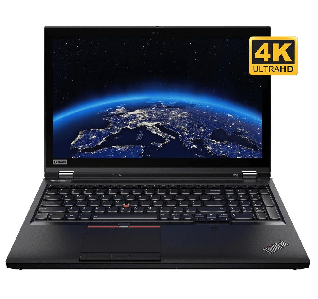 "Workstation Lenovo ThinkPad P53 15.6"" UHD OLED Touch HDR i7-9850H 32GB Quadro RTX 3000 6GB 512GB SSD Win 10 Pro"
