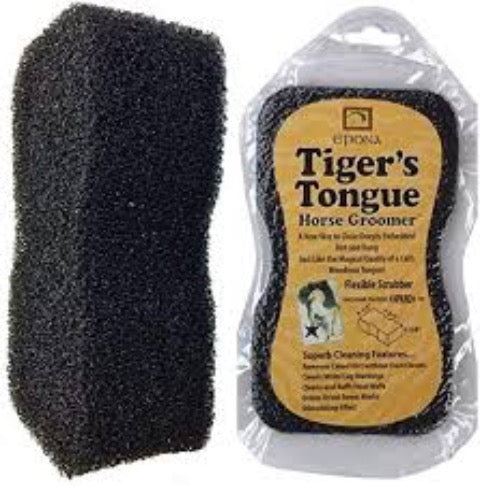Tiger's Tongue Grooming Sponge