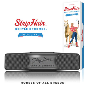 StripHair Gentle Groomer black (horse)