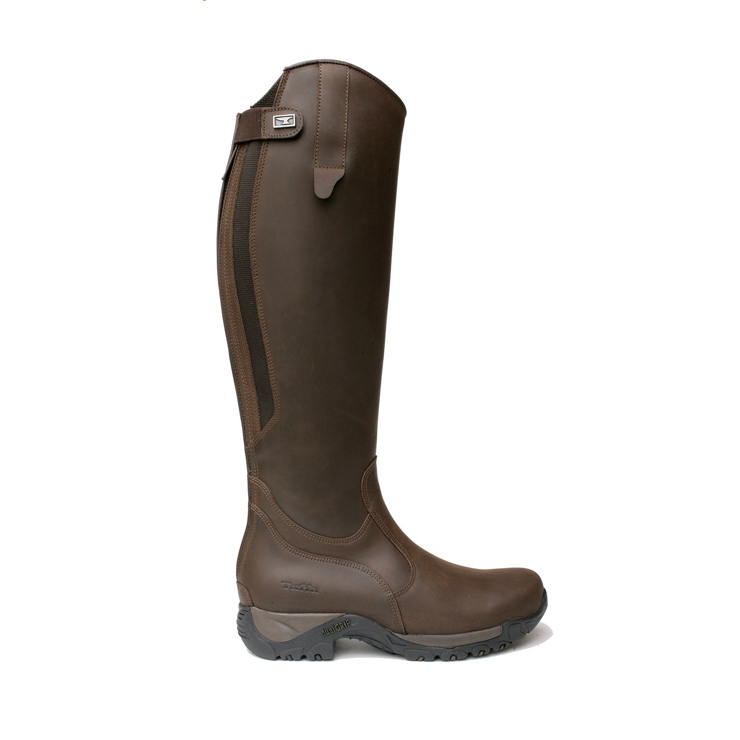 Tuffa Boots/Aylsham All Rounder Riding Boot Black/Brown