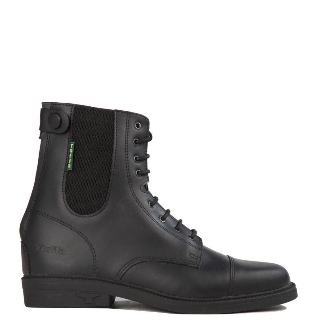 Tuffa Boots/Dartmoor Easy Rear Zip Black