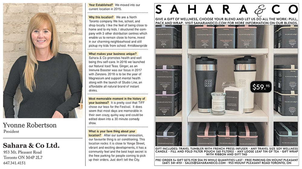 Sahara & Co North Toronto Post Business Profile