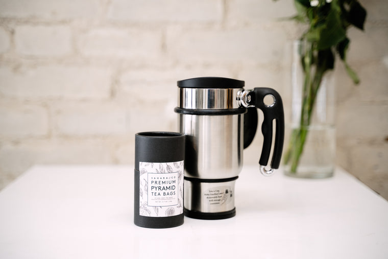 Loose Leaf Tea Tumbler Giftset