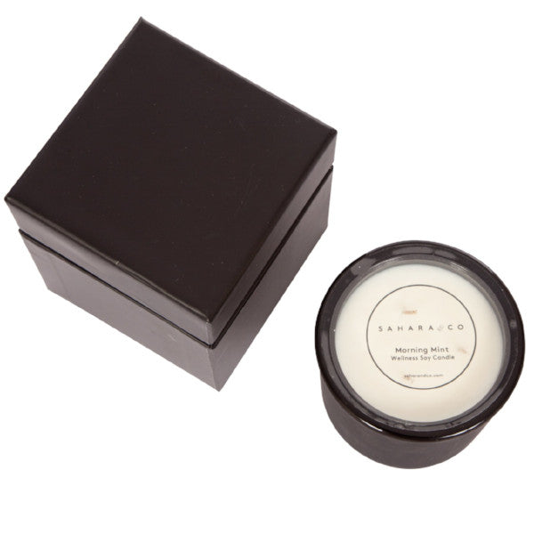 Matte Black Soy Candle