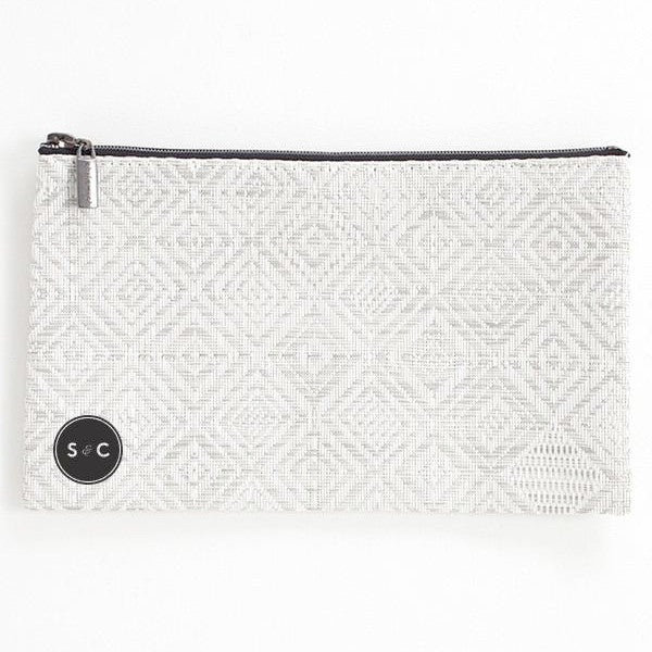 Mosaic Large Zip Pouch