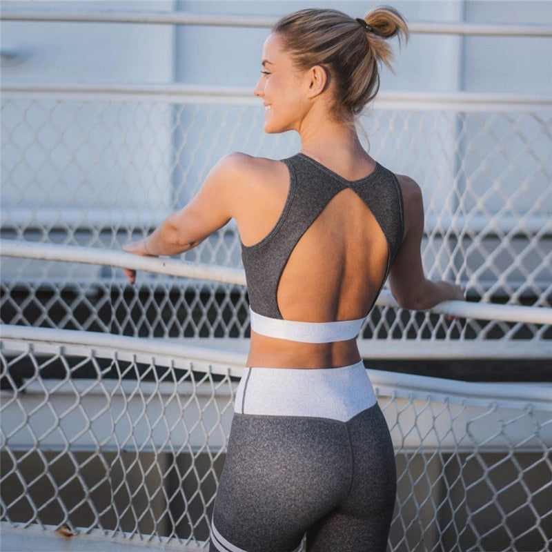 Grey Fitness Tracksuit
