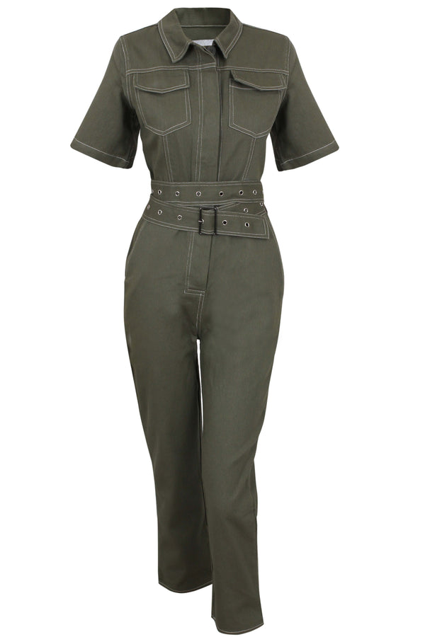 Irma Jumpsuit - Green