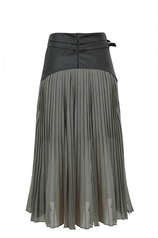 LOUVERS SKIRT
