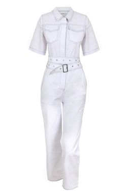 Irma Jumpsuit - White