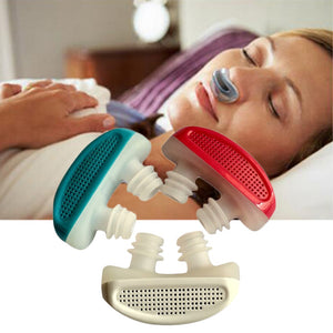 PM2.5 Patent CPAP Snoring Device Apnea Ventilation Nose Breathing Apparatus Nasal Congestion Clean Air purifier