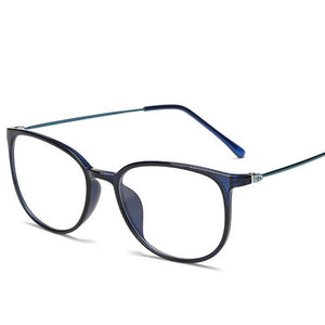 Ultralight TR90 Finished Myopia Glasses Women Men Sexy Oval Student Short-sighted Glasses Diopter -0.5 -1.0 -1.5 -2.0 To -6.0