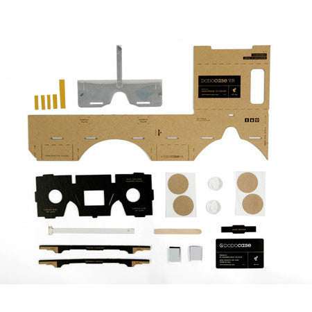 DODOcase Google Cardboard VR Tool Kit - with NFC Tag - Version 1.1 - Magnetic ring switch