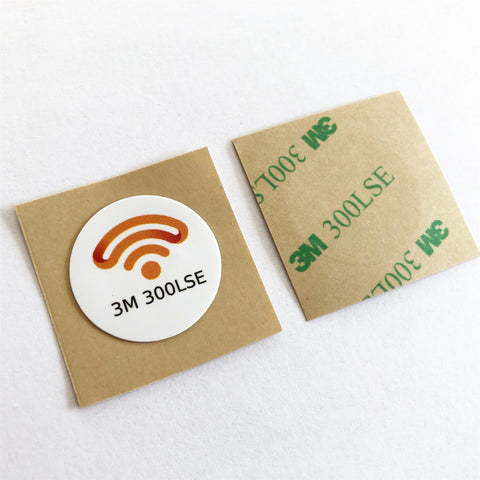 3M 300 LSE NFC sticker - NTAG213 - PET