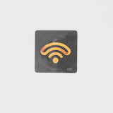 NFC Windshield Barnacle Anti-Tamper Tag - NTAG213 - Square - 35mm